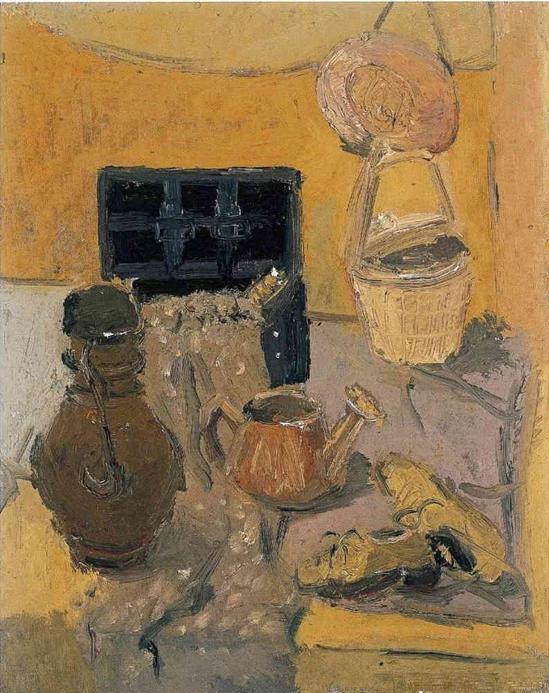 杭州艺考画室给你整理了难得一见的广美基础部收藏级色彩作品,39