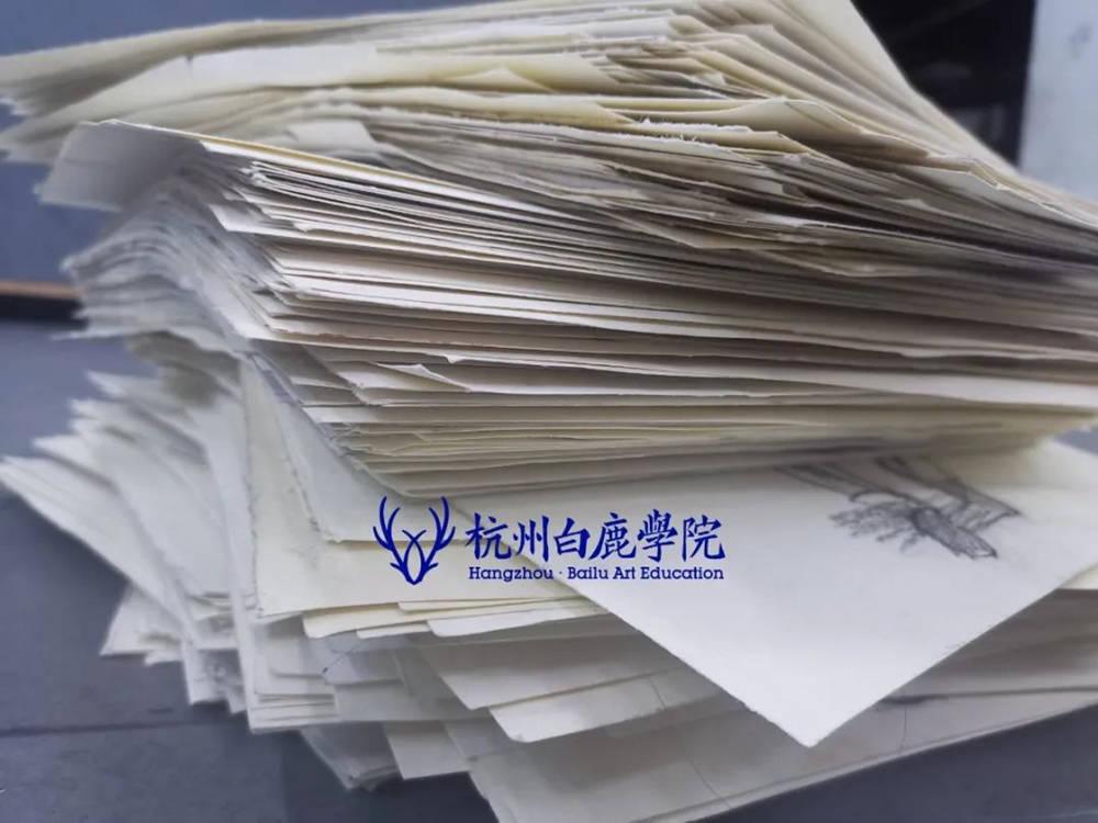 来吧,展示!杭州艺考画室白鹿八月月考进行中,17