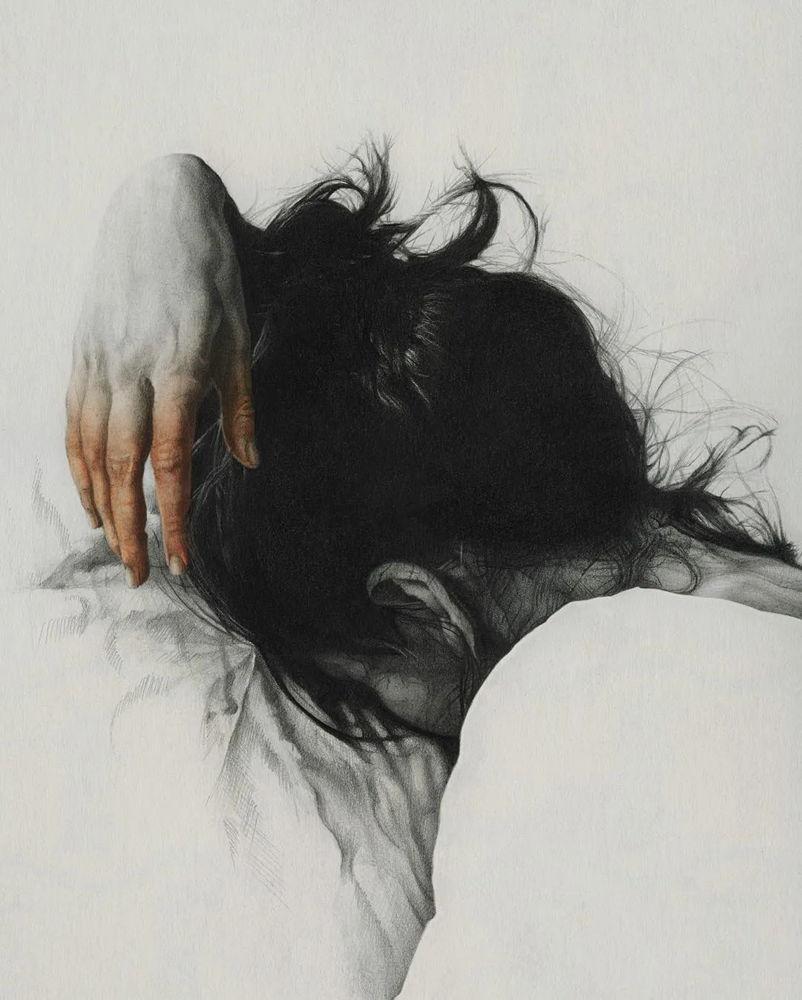 大神的素描,画的就是感觉,杭州艺考画室带你领略,35