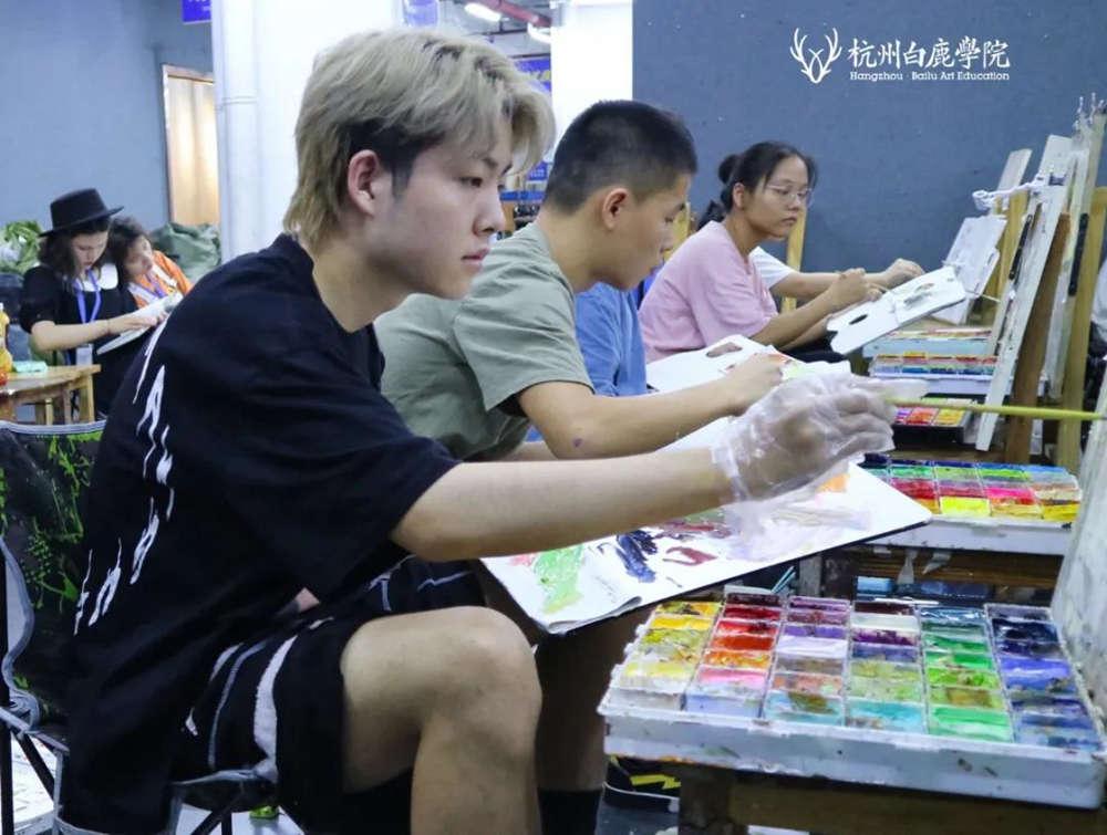 来吧,展示!杭州艺考画室白鹿八月月考进行中,06