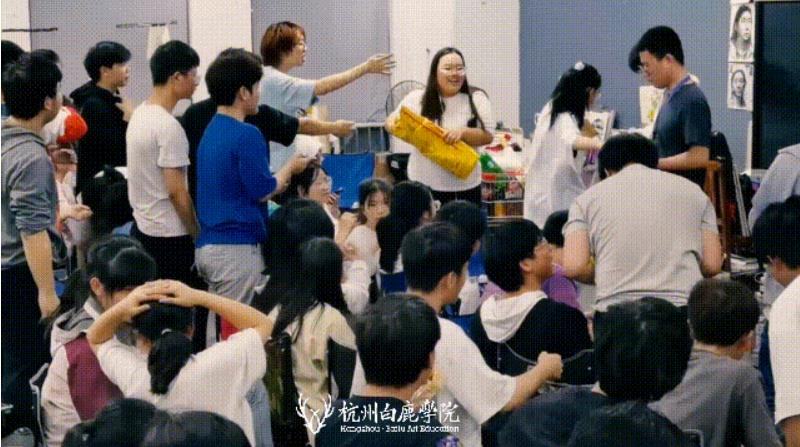 这个双节,杭州艺考画室白鹿学院陪你们过,12