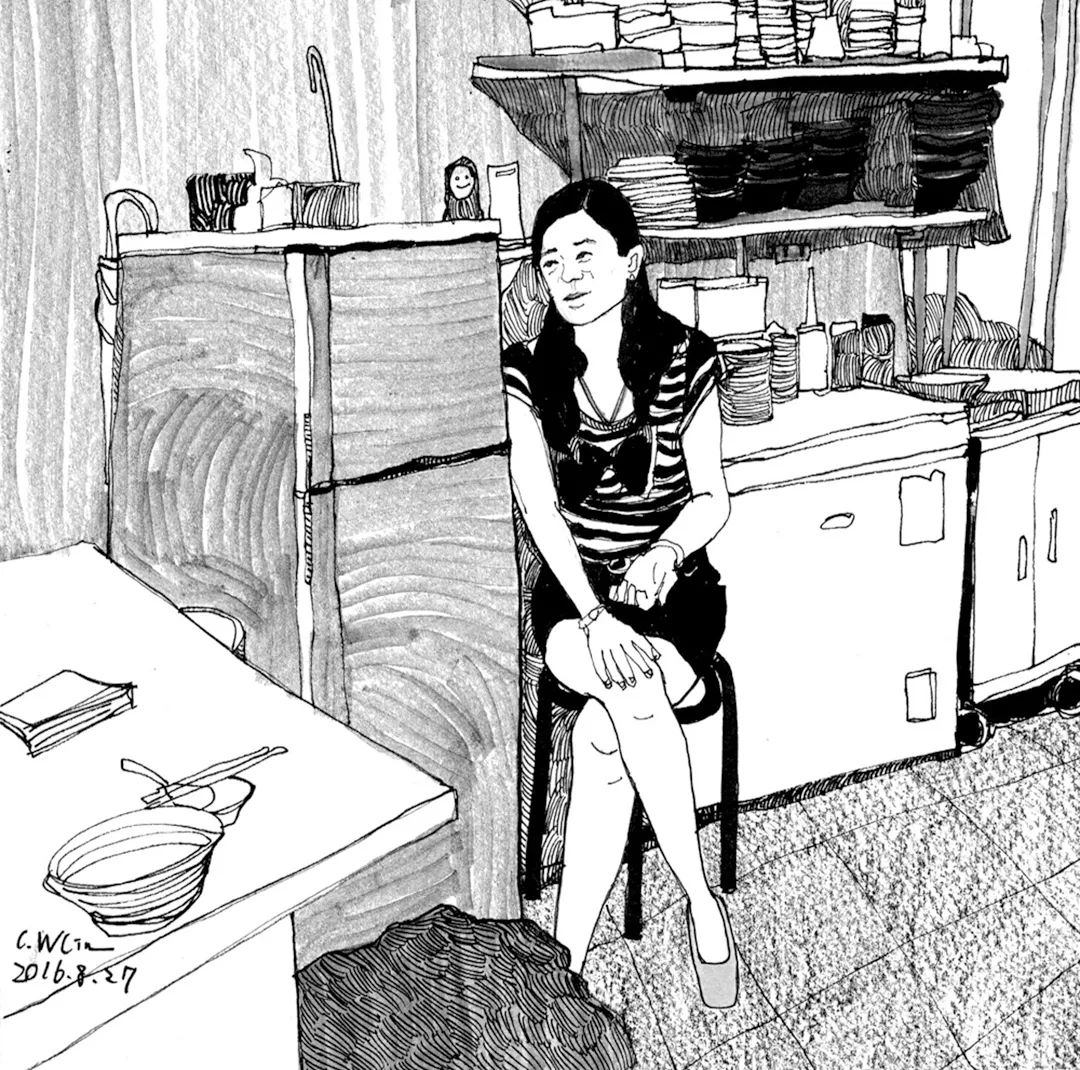 想考美院,杭州艺考画室聚德码住这些场景速写就能考取高分,03