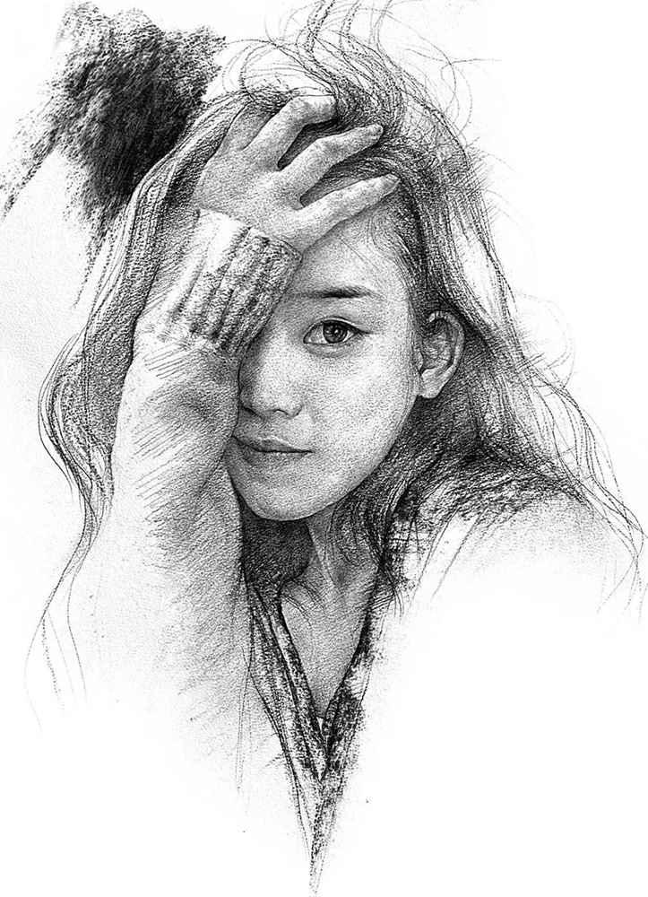 杭州艺考画室给你整理了神韵素描,看看这扎实的功底,09