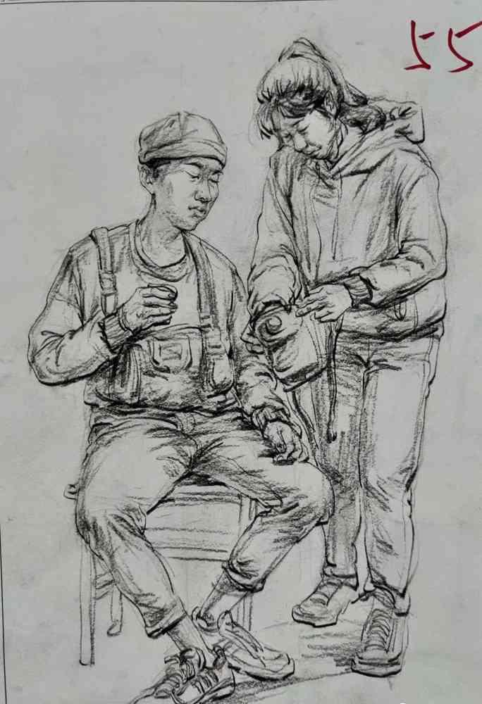 杭州美术培训班带你看21届江苏美术联考一模试卷,32