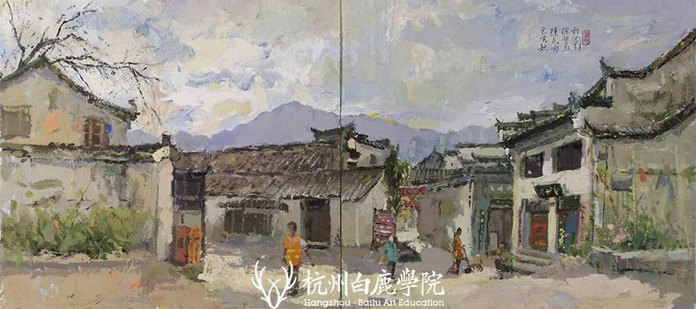 杭州艺考画室写生季 | 杭州白鹿学院下乡写生通知及注意事项,59