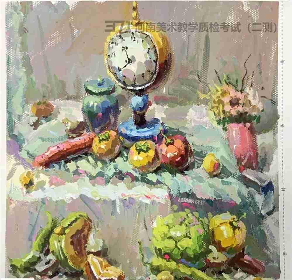 为更好的打磨自己,杭州画室集训班分享2021届河南省二模高分卷,48