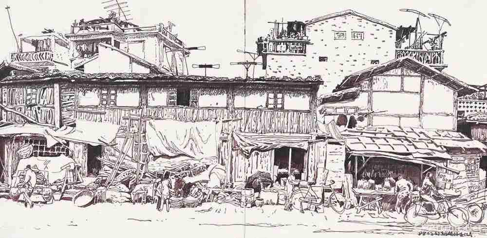 你的速写画不好,就是因为这个,杭州美术培训班老鹿带你涨涨见识,30