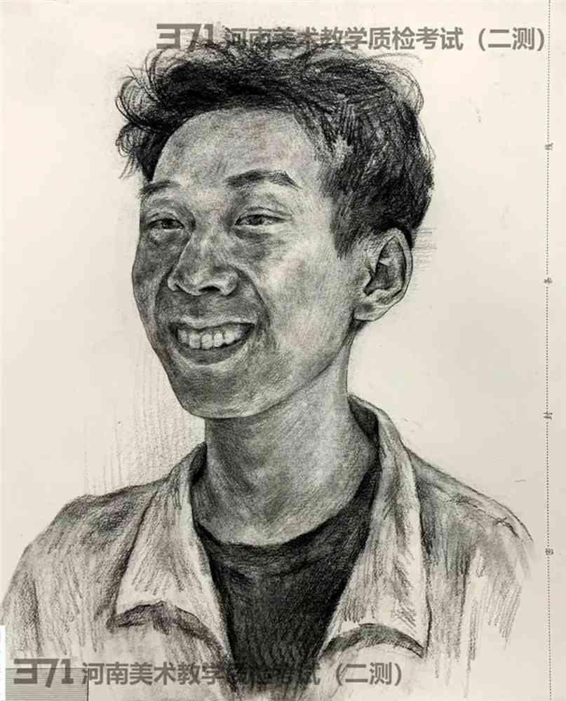 为更好的打磨自己,杭州画室集训班分享2021届河南省二模高分卷,35