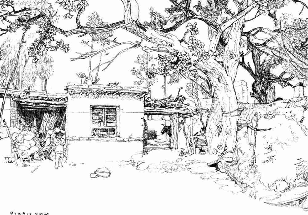 你的速写画不好,就是因为这个,杭州美术培训班老鹿带你涨涨见识,20