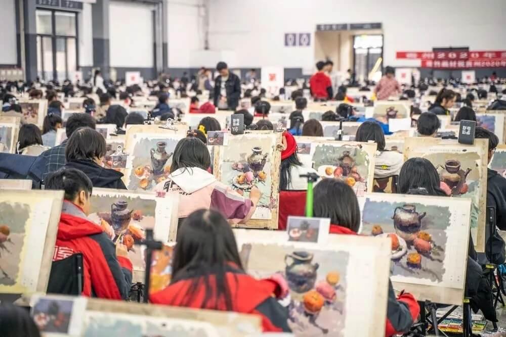 杭州画室培训班同学你都清楚自己考多少分才能过线?
