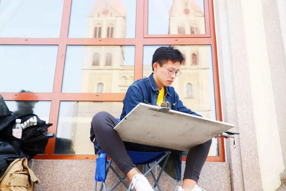 杭州艺考画室写生季 | 杭州白鹿学院下乡写生通知及注意事项,36