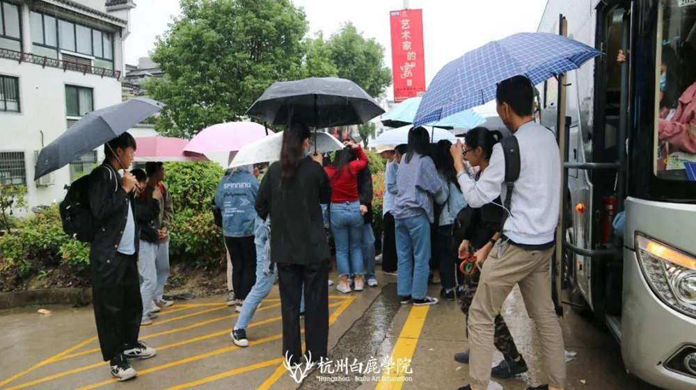 杭州艺考画室白鹿写生季 | 画画的Baby们安全抵达写生地啦,14