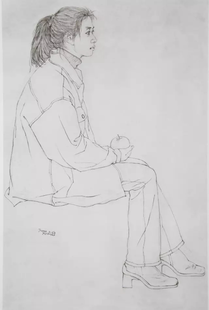 杭州艺考画室,杭州画室,杭州素描培训画室,40
