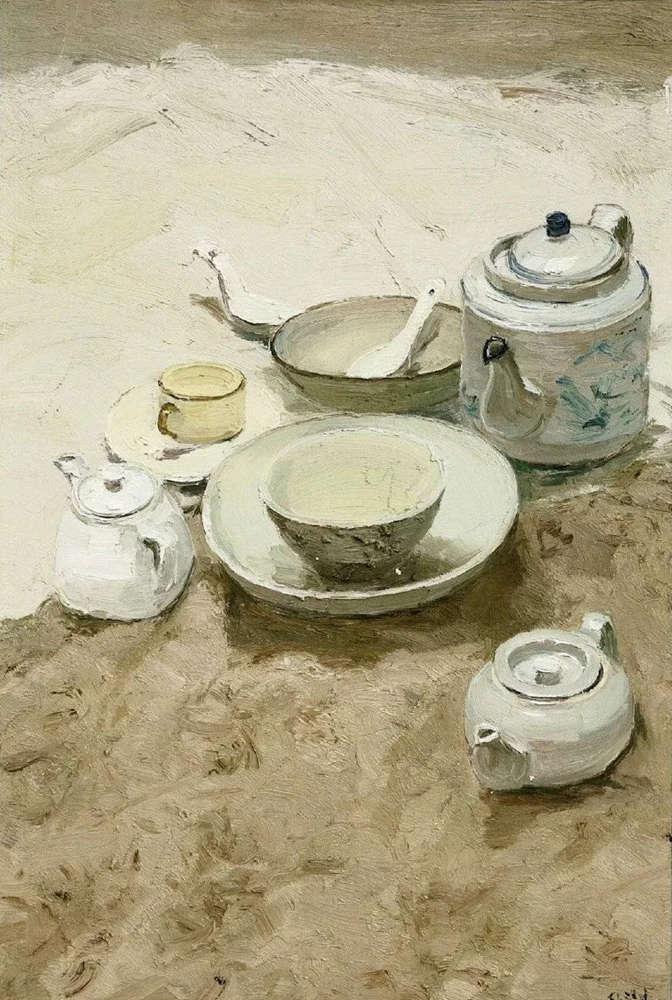 杭州艺考画室给你整理了难得一见的广美基础部收藏级色彩作品,13