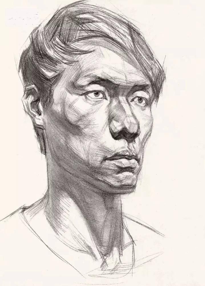 这么实用素描头像结构教程,杭州艺考画室都给你搞来了,19