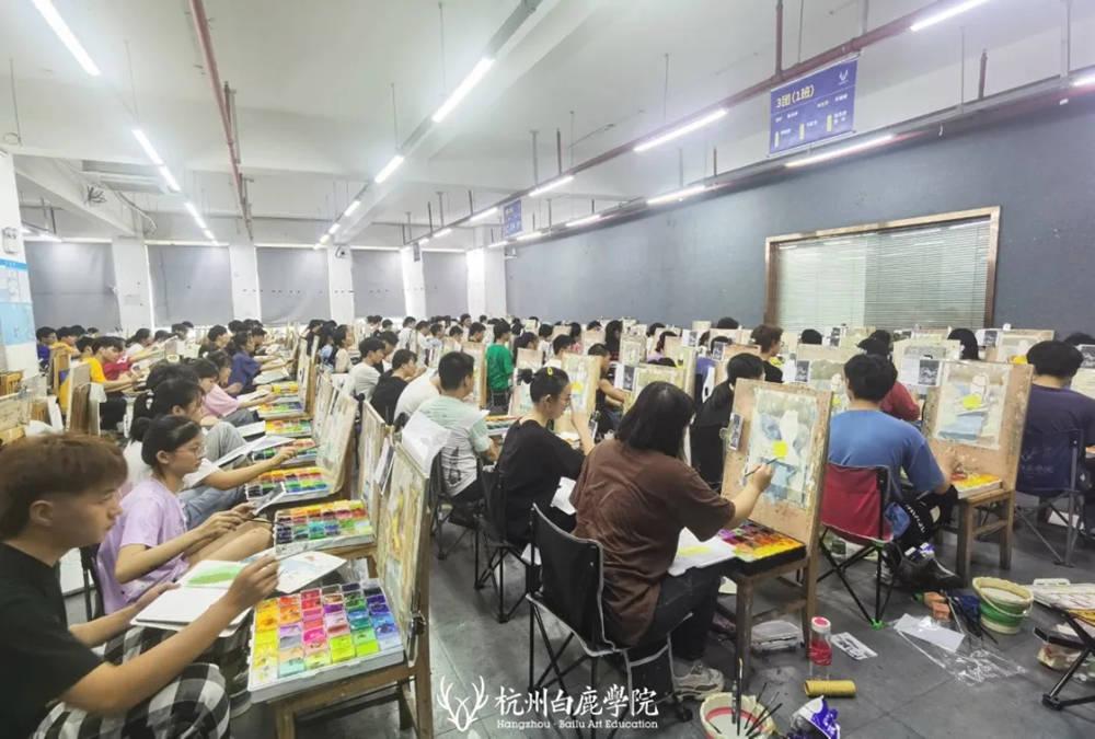 杭州白鹿日常 | 你说艺考美术生考大学很容易?你来试一试,34