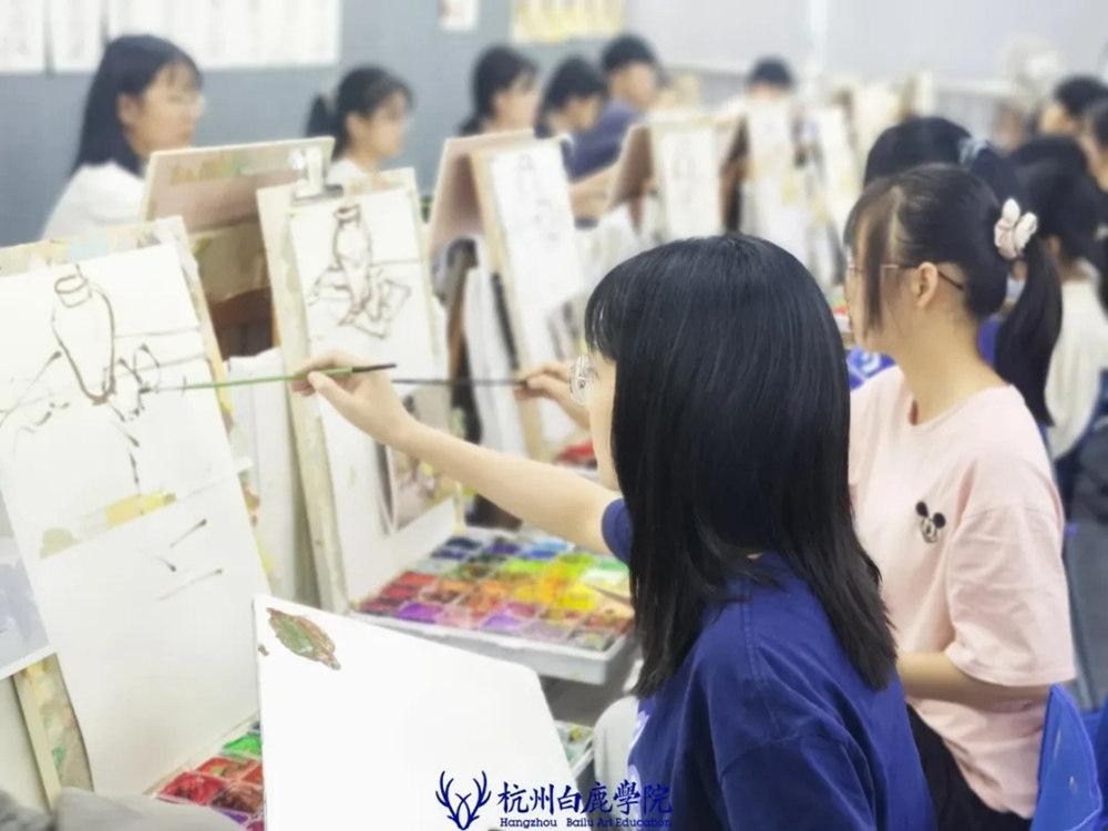 杭州艺考画室日常 | 你说美术生考大学很容易?要不你来试一试,16