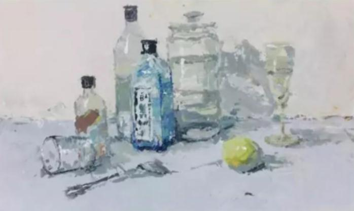 杭州艺考画室教你如何表现色彩静物的画面空间感,06