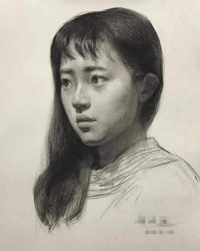 杭州艺考画室素描教程:素描关系是深入刻画的合理,16