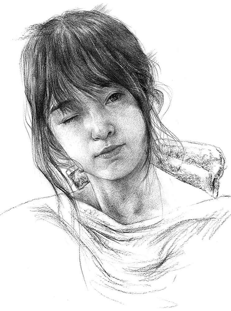 杭州艺考画室给你整理了神韵素描,看看这扎实的功底,07