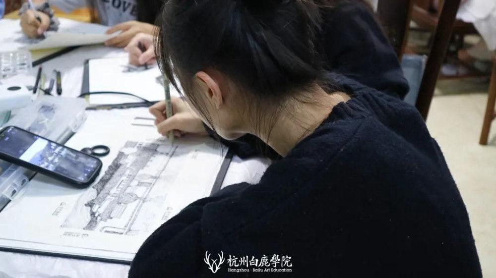 杭州艺考画室白鹿写生季 | 秋天的第一场写生未完待续,60