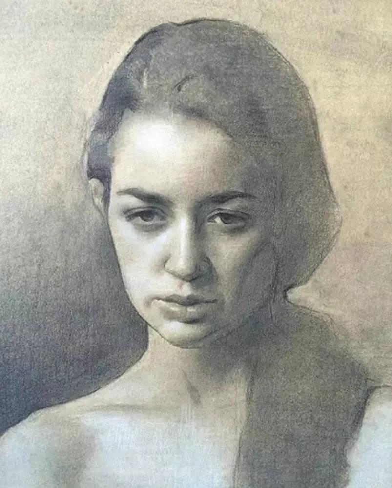 杭州艺考画室整理的一眼就爱的素描,这松动的笔触绝了,38