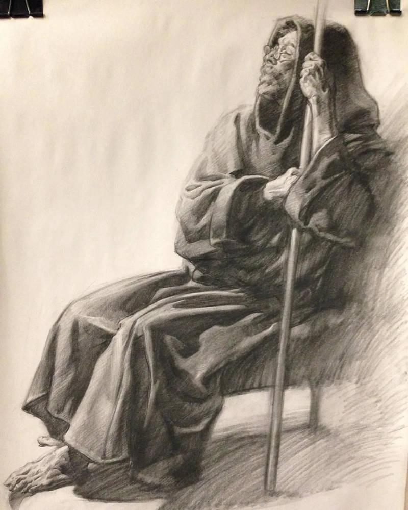 杭州画室,杭州素描美术培训,杭州素描画室,07