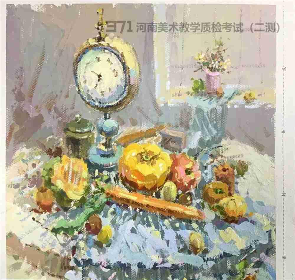 为更好的打磨自己,杭州画室集训班分享2021届河南省二模高分卷,44