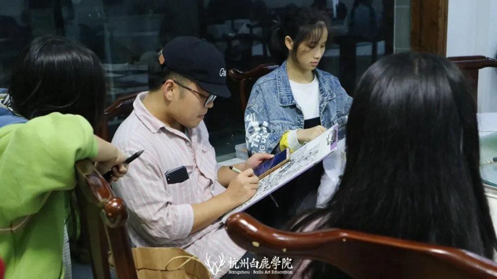 杭州艺考画室白鹿写生季 | 秋天的第一场写生未完待续,57