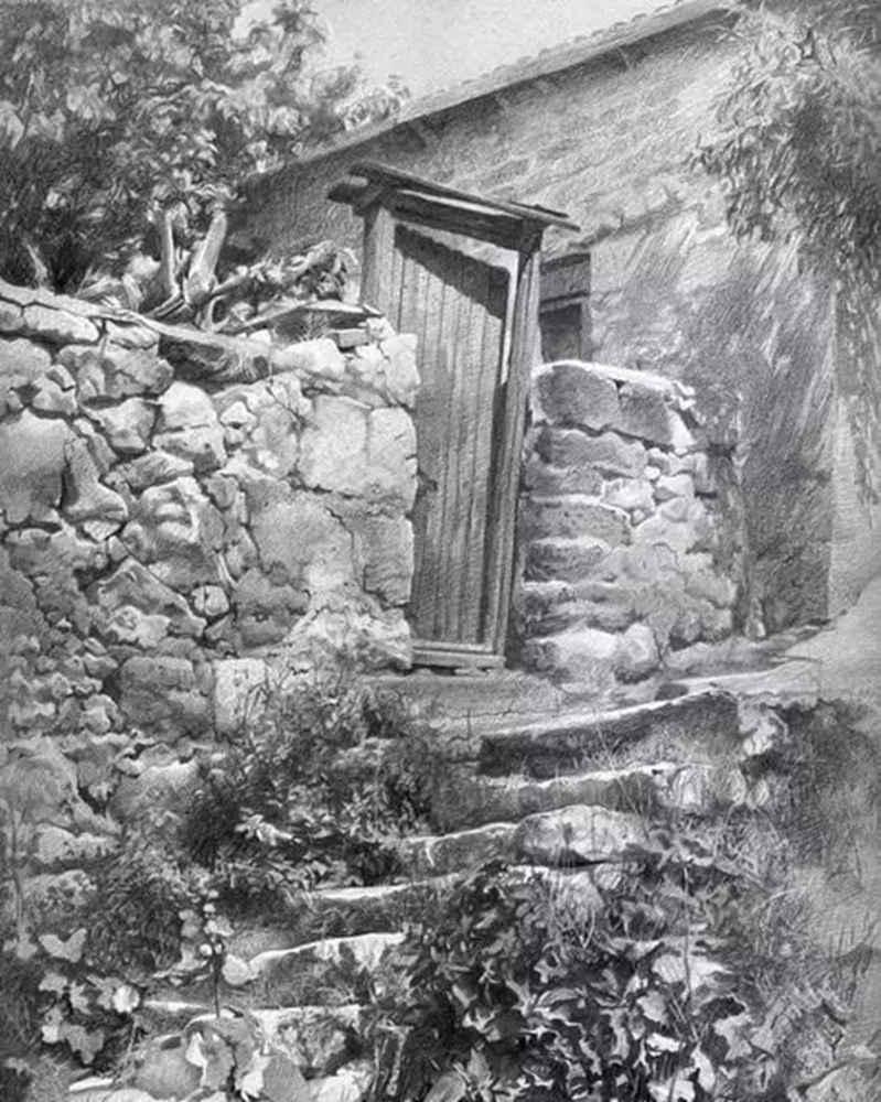 素描这样处理光影,很出彩,杭州艺考画室建议收藏,29
