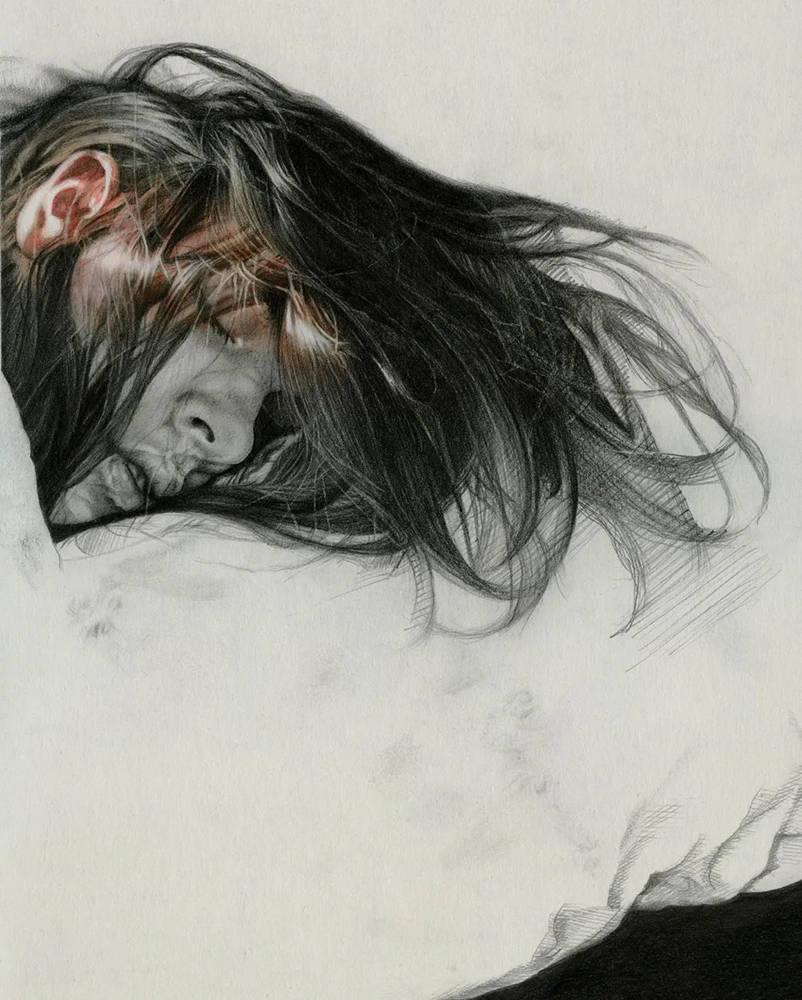 大神的素描,画的就是感觉,杭州艺考画室带你领略,08