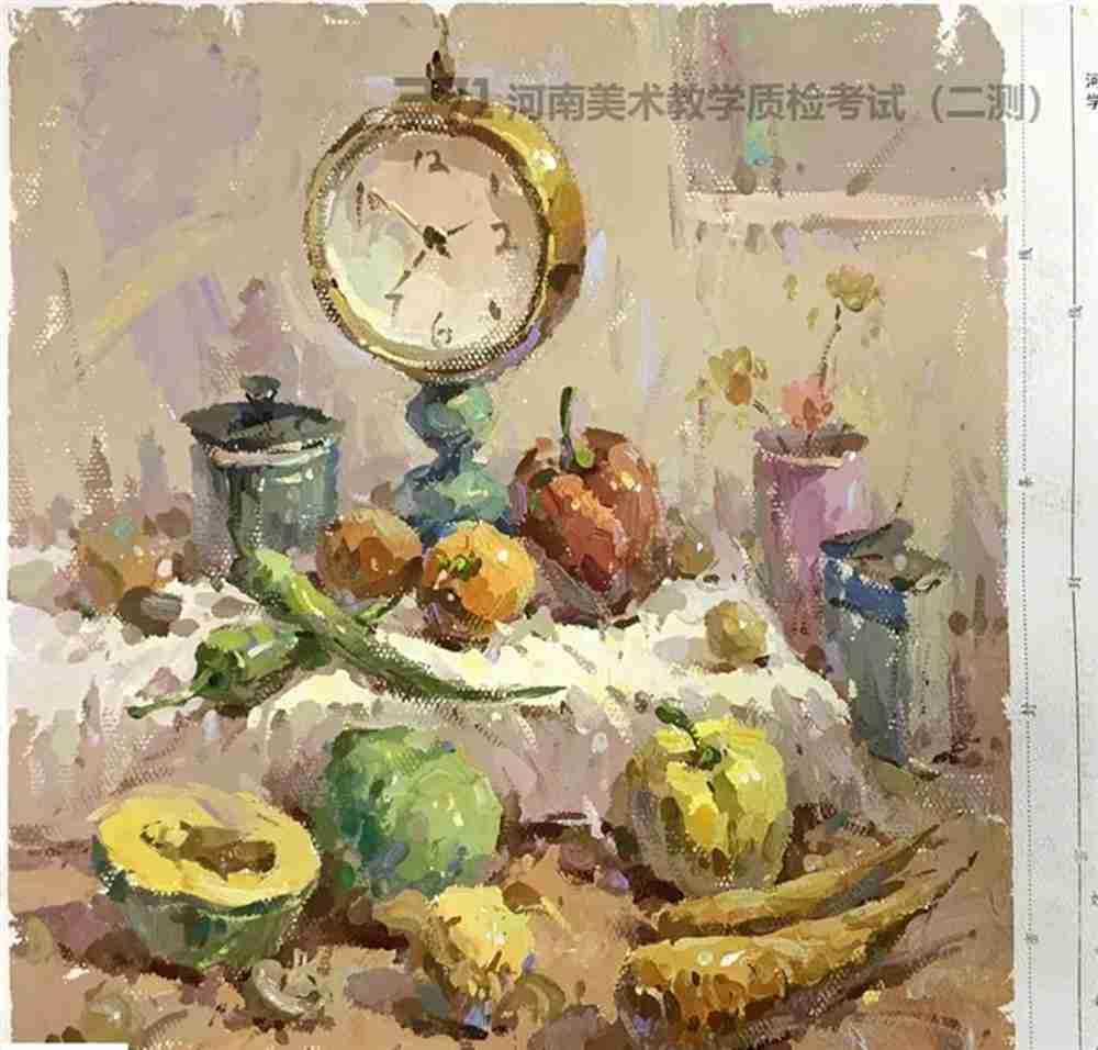 为更好的打磨自己,杭州画室集训班分享2021届河南省二模高分卷,49