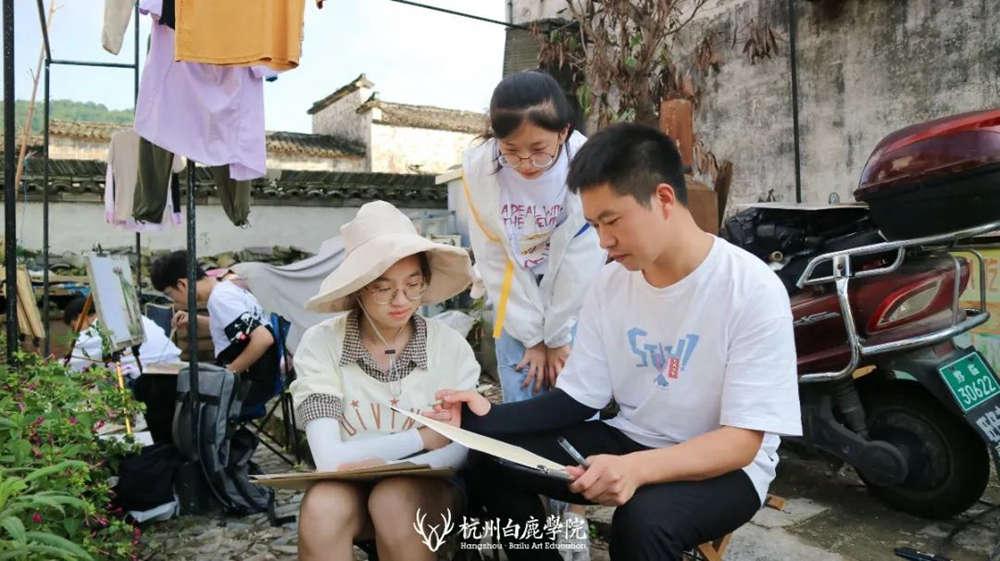 杭州艺考画室白鹿写生季 | 秋天的第一场写生未完待续,49
