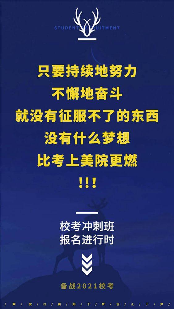 决战美院,乘风破浪 | 2021杭州白鹿学院校考冲刺班招生简章,03