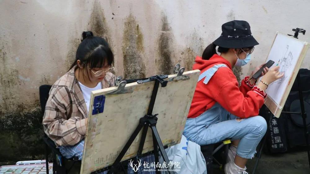 杭州艺考画室白鹿写生季 | 秋天的第一场写生未完待续,46