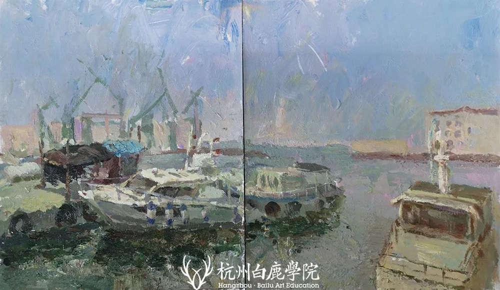 杭州艺考画室写生季 | 杭州白鹿学院下乡写生通知及注意事项,46