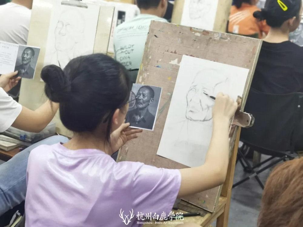 杭州白鹿日常 | 你说艺考美术生考大学很容易?你来试一试,27