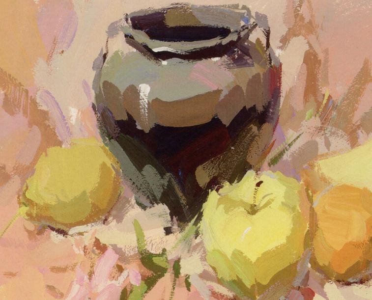 杭州艺考画室老师教你如何区分画面的色彩的冷暖关系,08