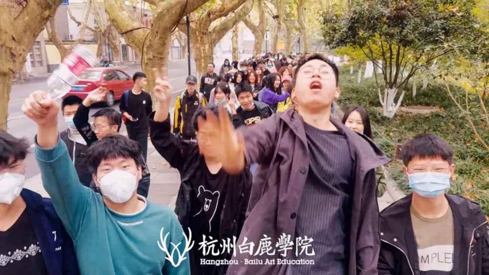 杭州画室集训班白鹿学子西湖国美一日游,以最优状态完胜联考,24