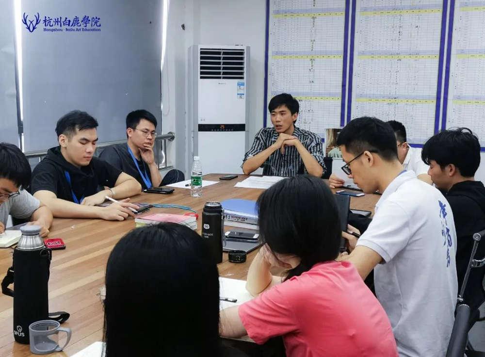 来吧,展示!杭州艺考画室白鹿八月月考进行中,33