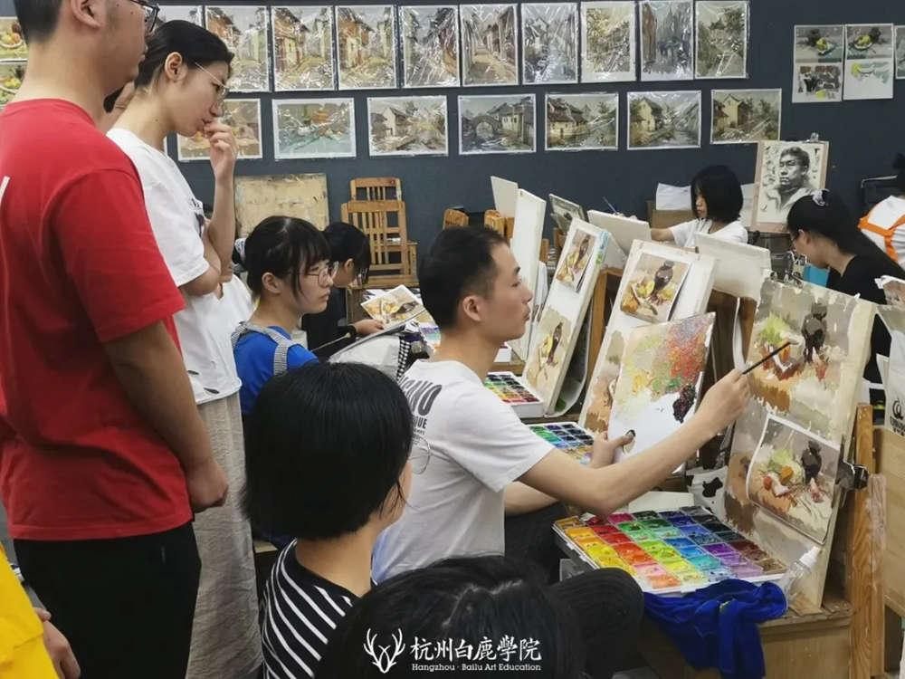 杭州艺考画室日常 | 你说美术生考大学很容易?要不你来试一试,47