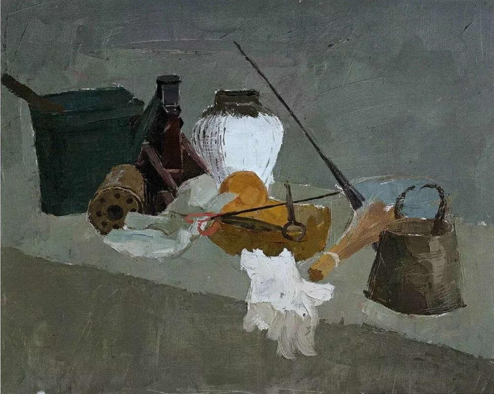 杭州艺考画室给你整理了难得一见的广美基础部收藏级色彩作品,23