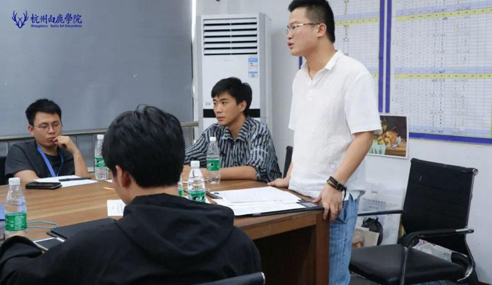 来吧,展示!杭州艺考画室白鹿八月月考进行中,37