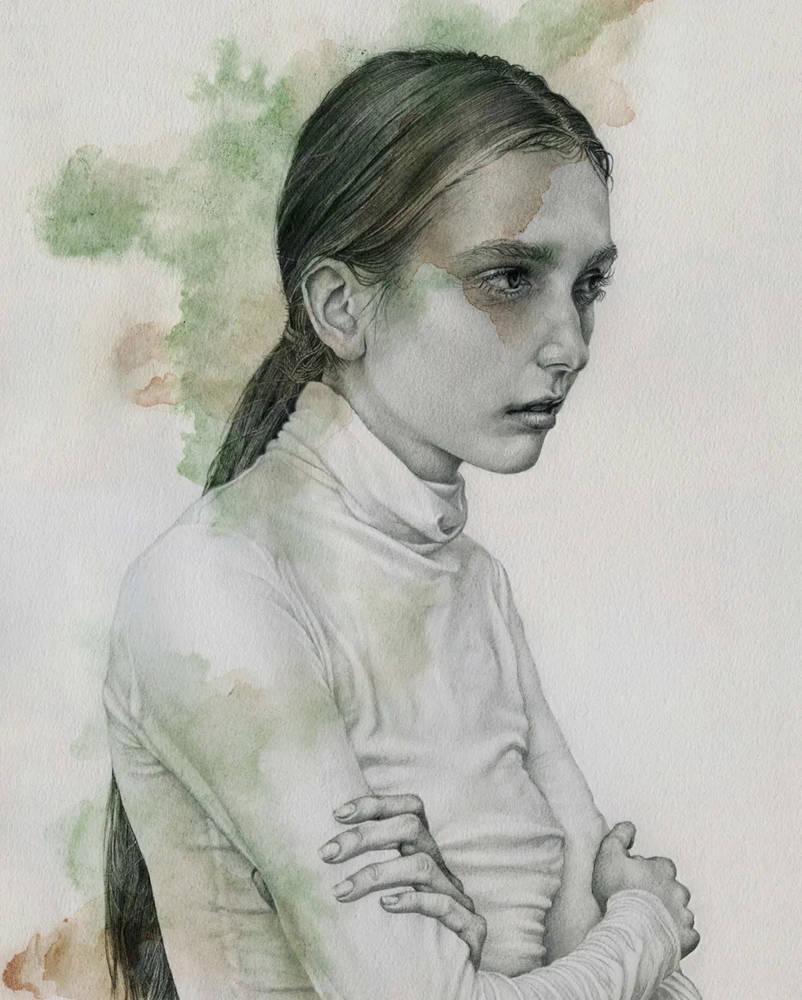 大神的素描,画的就是感觉,杭州艺考画室带你领略,38