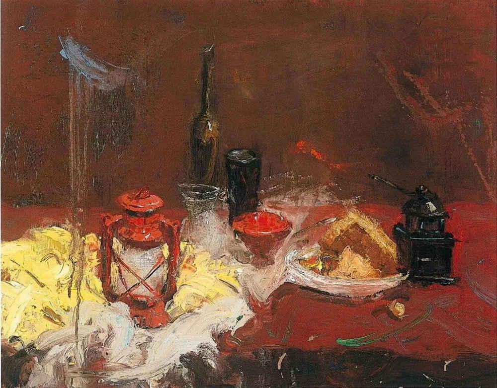 杭州艺考画室给你整理了难得一见的广美基础部收藏级色彩作品,35