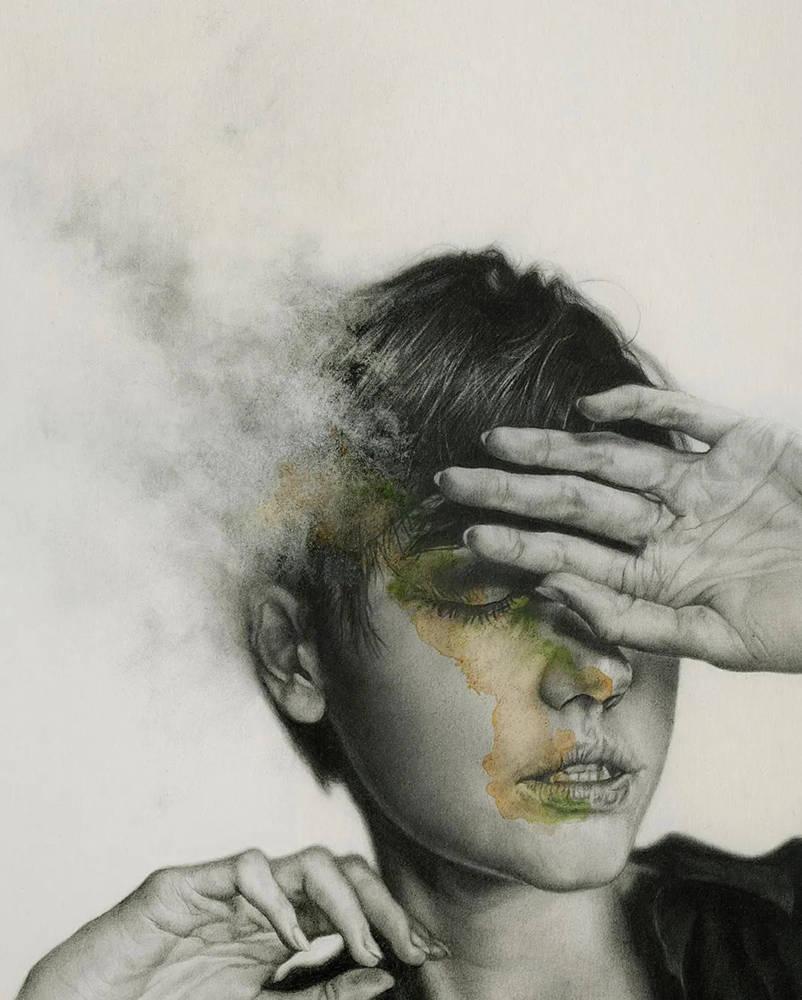 大神的素描,画的就是感觉,杭州艺考画室带你领略,04