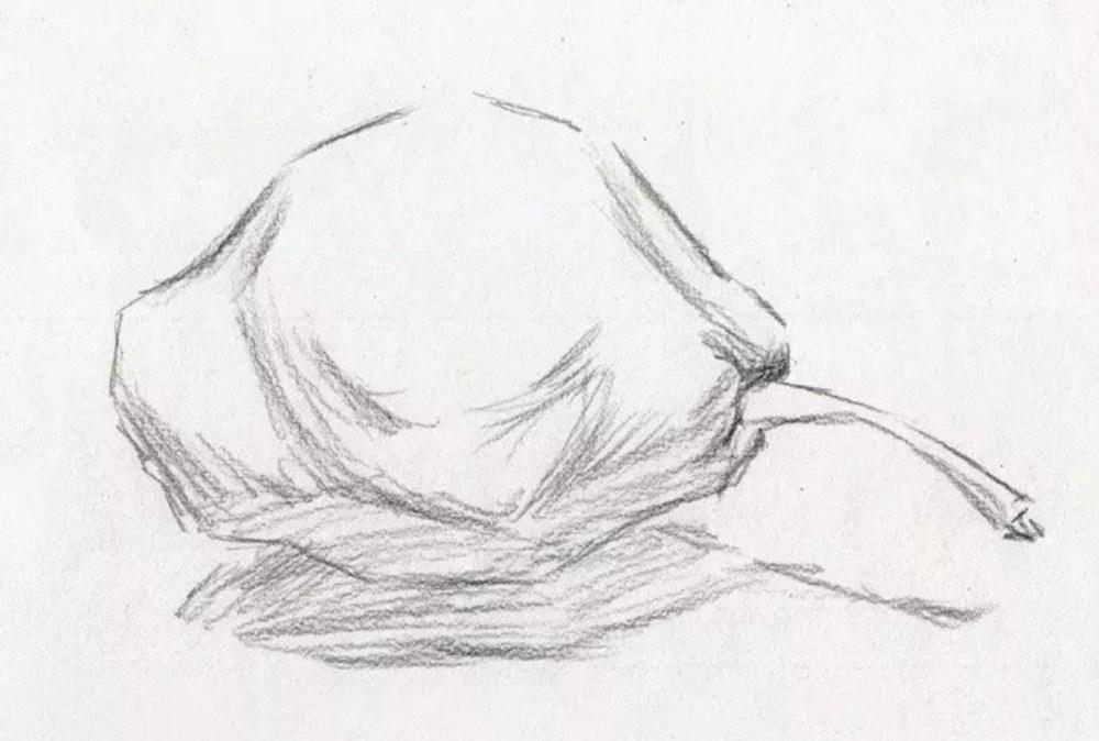 静物素描太难,杭州艺考画室整理的详细教程在里面,05