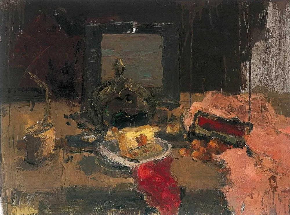 杭州艺考画室给你整理了难得一见的广美基础部收藏级色彩作品,37