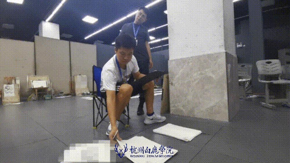 来吧,展示!杭州艺考画室白鹿八月月考进行中,29