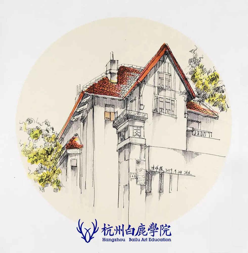 杭州艺考画室写生季 | 杭州白鹿学院下乡写生通知及注意事项,69